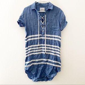 Rails | Rocky Catalina Stripe Shirt Dress